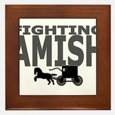 Amish Framed Tile