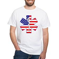 US Flag Star Of Life Shirt