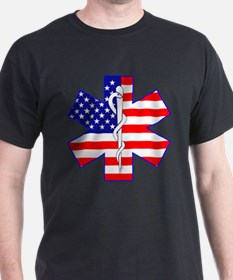US Flag Star Of Life T-Shirt