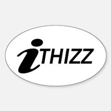 iTHIZZ Oval Decal