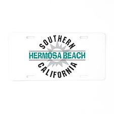 Hermosa Beach California Aluminum License Plate