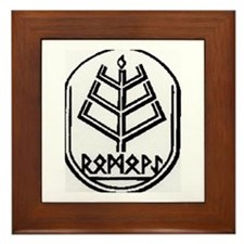 Romuva Ethnic Religion Framed Tile