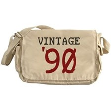 Vintage 1990 Messenger Bag
