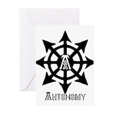 Autonomy Celtic Greeting Card
