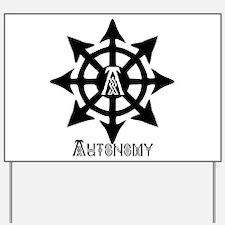 Autonomy Celtic Yard Sign
