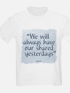Rainy Days Kids T-Shirt
