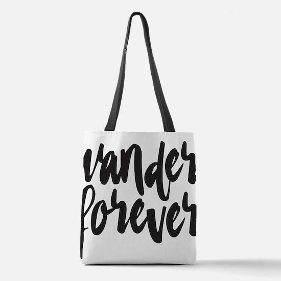 Wander Forever Polyester Tote Bag