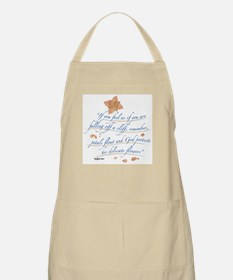 Delicate Flowers BBQ Apron