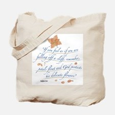 Delicate Flowers Tote Bag