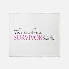 Cancer Survivor Looks Like Throw Blanket