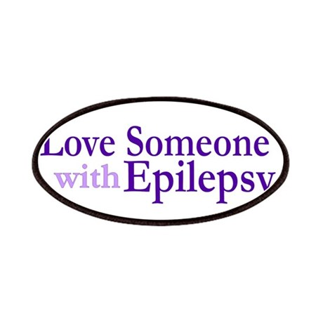I Love someone with Epilepsy Patches