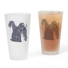 Unique Irish terrier Drinking Glass