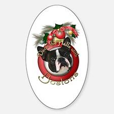 Christmas - Deck the Halls - Bostons Decal