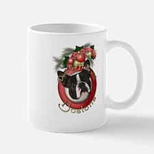 Christmas - Deck the Halls - Bostons Mug