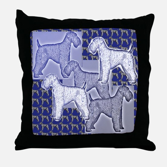 Cute Irish terrier Throw Pillow