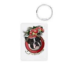 Christmas - Deck the Halls - Bostons Keychains