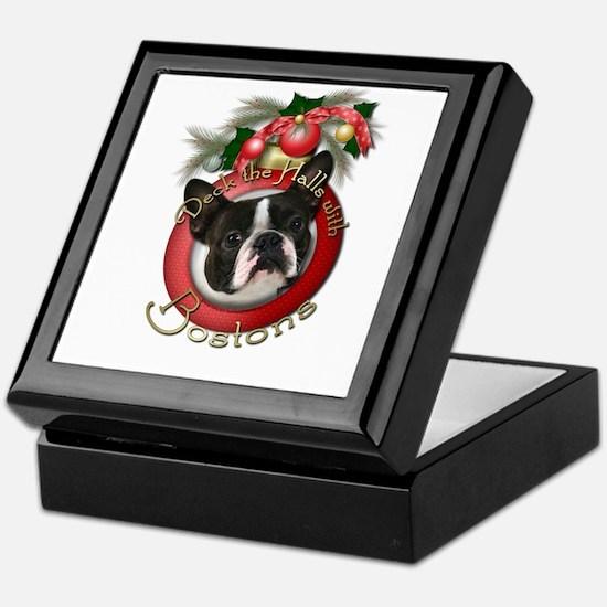 Christmas - Deck the Halls - Bostons Keepsake Box