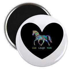 Rainbow horse gift Magnet