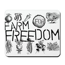 Farm for Freedom Mousepad