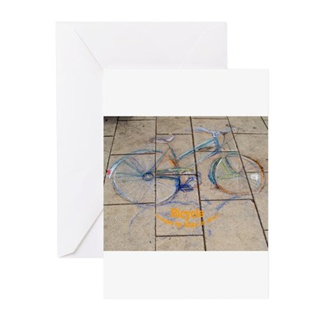 Bicycle Greeting Cards (Pk of 10)