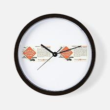 Railway Express Agency 1948 Wall Clock