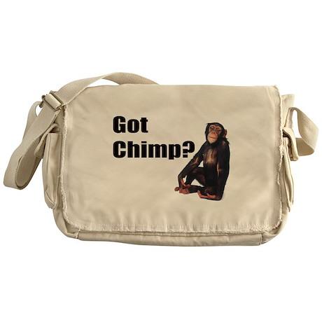 Got Chimp Messenger Bag