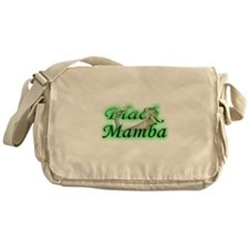 Black Mamba Messenger Bag