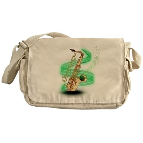 Saxophone Wrap Messenger Bag