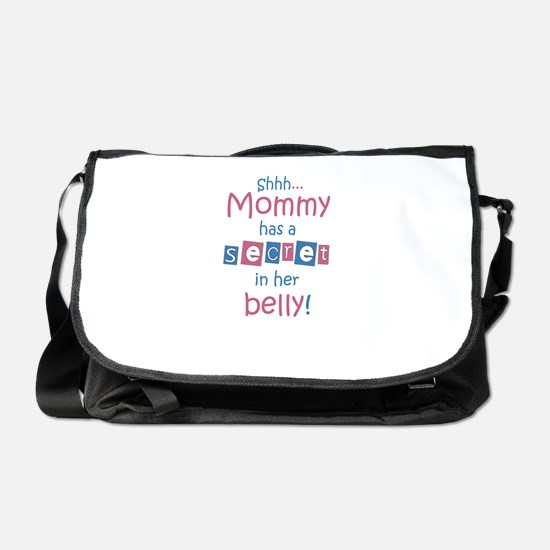 Shhh-mommy2.png Messenger Bag