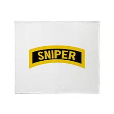 Sniper Throw Blanket