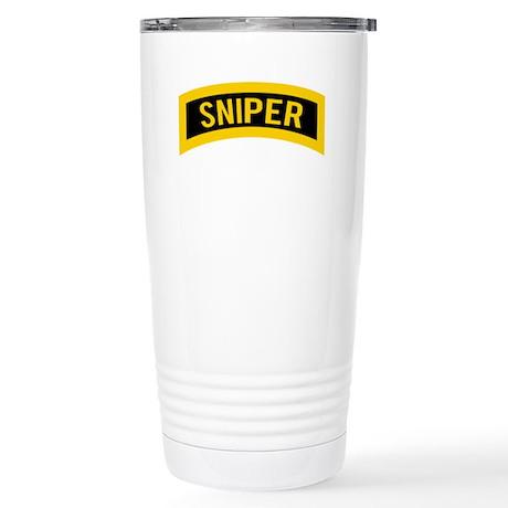 Sniper Stainless Steel Travel Mug
