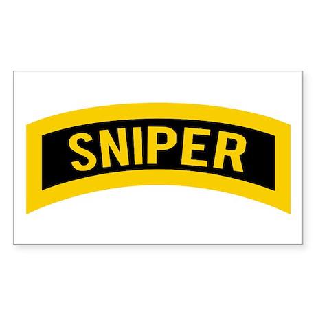 Sniper Sticker (Rectangle)
