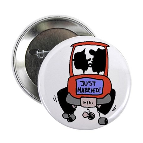 "Just Married 2.25"" Button (100 pack)"
