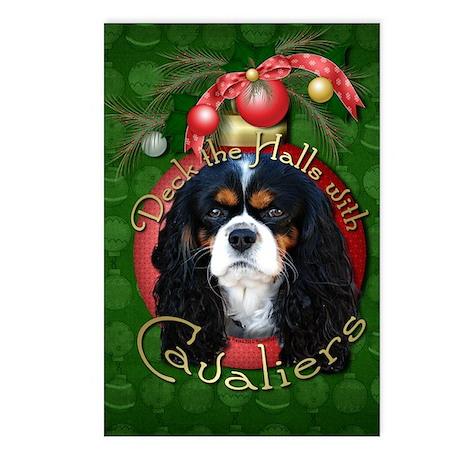 Christmas - Deck the Halls - Cavaliers Postcards (