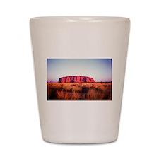Uluru: Unique Moment Shot Glass