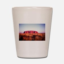 Uluru: Unique Moment Shot Glass