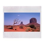 Monument Valley Struggle Throw Blanket
