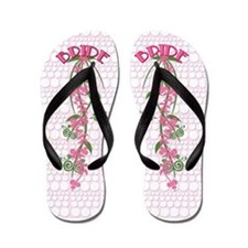 Beach Wedding Bride Flip Flops