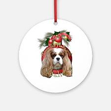 Christmas - Deck the Halls - Cavaliers Ornament (R