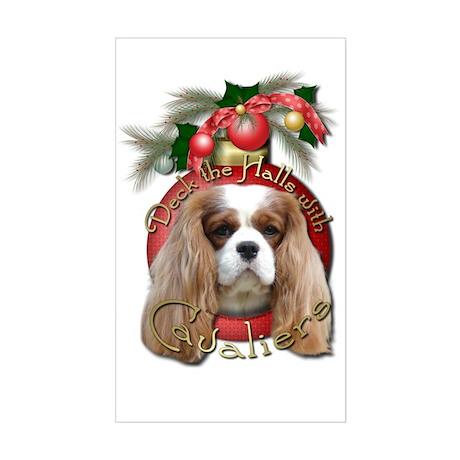 Christmas - Deck the Halls - Cavaliers Sticker (Re