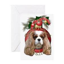 Christmas - Deck the Halls - Cavaliers Greeting Ca