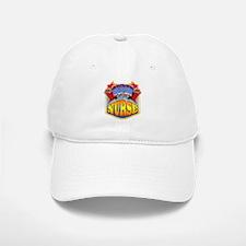 Super Nurse Baseball Baseball Cap