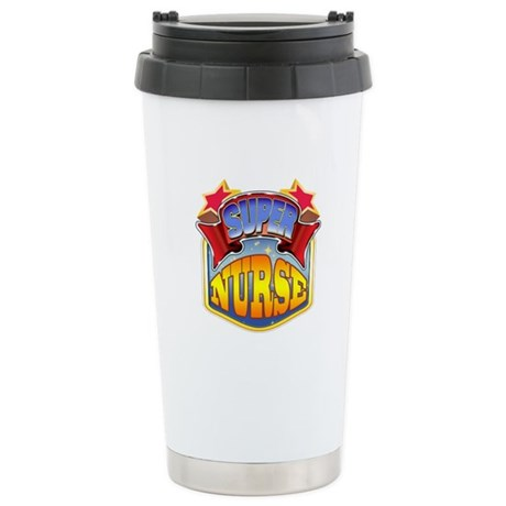 Super Nurse Stainless Steel Travel Mug