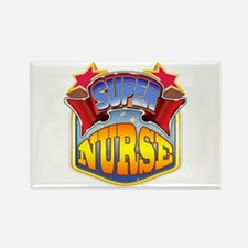 Super Nurse Rectangle Magnet