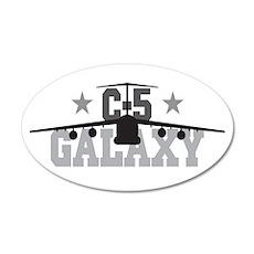 C-5 Galaxy Aviation 22x14 Oval Wall Peel