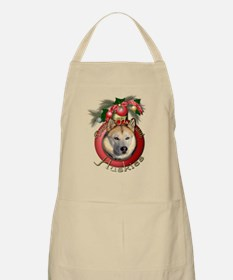 Christmas - Deck the Halls - Huskies Apron