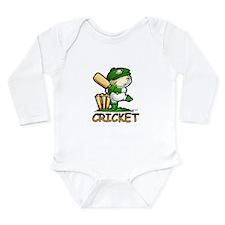 Cricket Long Sleeve Infant Bodysuit