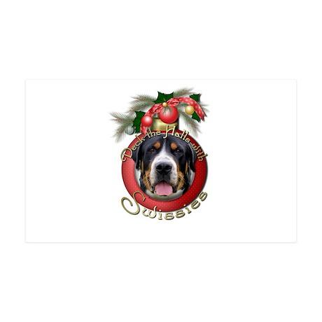 Christmas - Deck the Halls - Swissies 38.5 x 24.5
