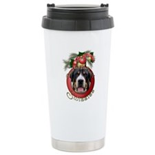 Christmas - Deck the Halls - Swissies Travel Mug