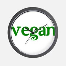 Simple Vegan Wall Clock